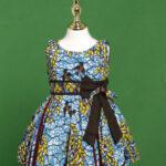 short dress in ankara conton fabric